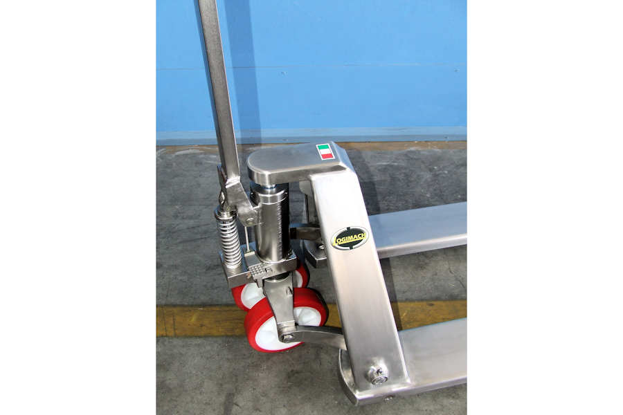 Stainless Steel Hand Jack : Stainless steel hand pallet jacks logimach by